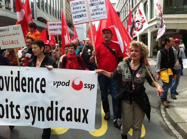 Stellungnahme vpod: Streikende entlassen - das darf es nie wieder geben (BILD)