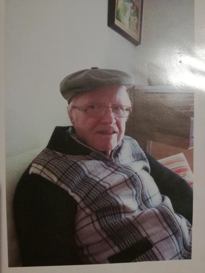 POL-MA: Hockenheim, Rhein-Neckar-Kreis: 84-Jähriger vermisst - Hinweise an die Polizei erbeten
