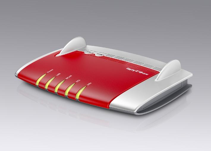 Neue FRITZ!Box 3390 - Schnelles WLAN mit 2x 450 MBit/s gleichzeitig und Top-Ausstattung