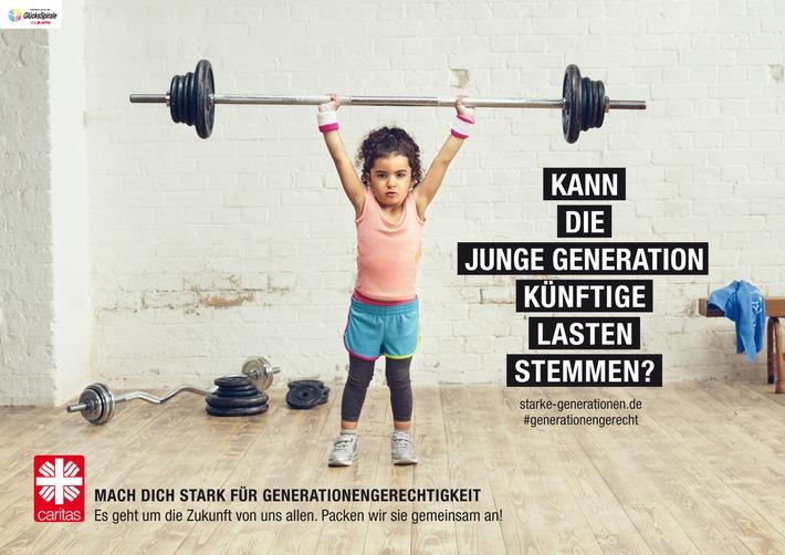"""Caritas-Kampagne 2016 """"Mach dich stark für Generationengerechtigkeit"""""""