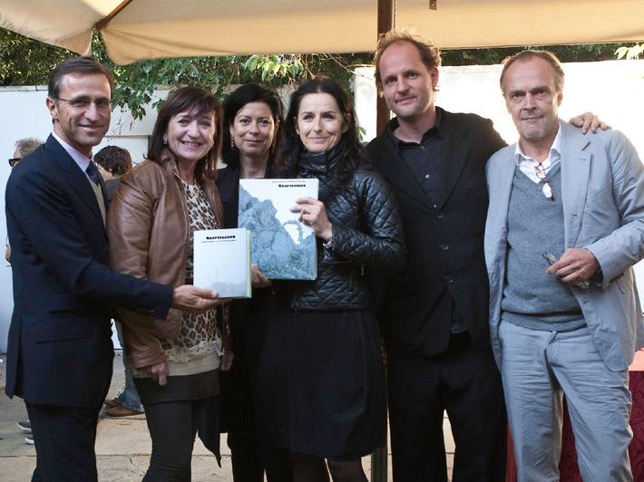 """Glanzvolle Präsentation von """"Quartessenz"""" auf der Biennale"""