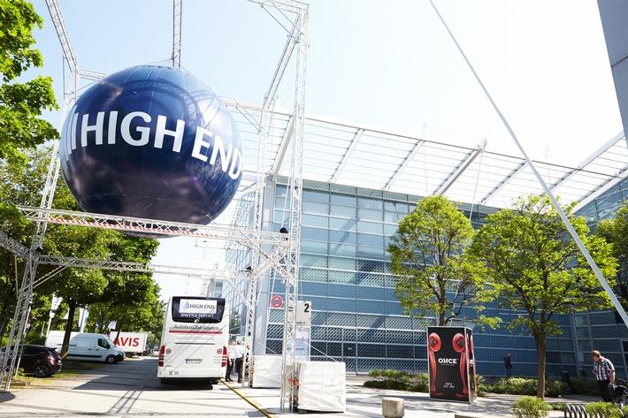 HIGH END 2016 / Die Erlebnis-Messe für exzellente Unterhaltungselekronik