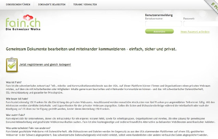 Neuer Social-Web-Dienst für die Schweiz