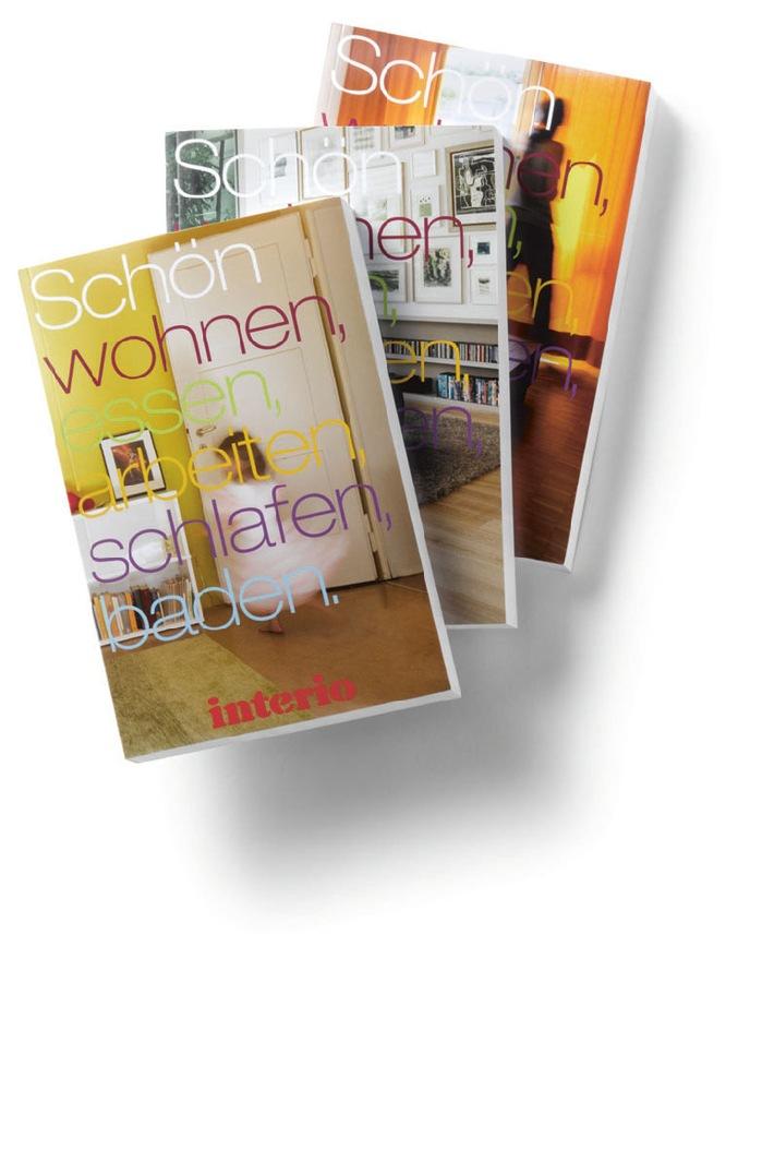 Interio Buch 2011-12: Ab sofort in allen Interio Einrichtungshäusern und DEPOT-Interio Boutiquen