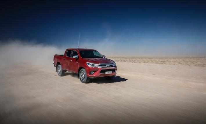 Nouveau Toyota Hilux - Une nouvelle ère pour le pick-up