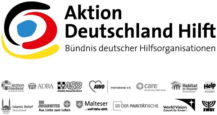 """400 Mio. Euro Spenden in 15 Jahren / """"Aktion Deutschland Hilft"""" feiert 15-jähriges Bestehen"""