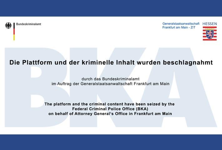 """BKA: Festnahme von mutmaßlichen Verantwortlichen und Mitgliedern der kinderpornographischen Darknet-Plattform """"ELYSIUM"""" und Abschaltung dieser Plattform"""