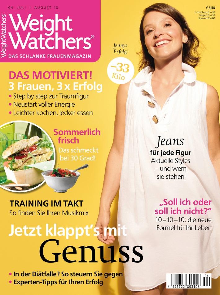 Wenn Frauen nach der Geburt zunehmen / Junge Mütter müssen neue Balance finden - Ernährungsumstellung lässt Pfunde schmelzen / Neues Weight Watchers Magazin mit Tipps für die Abnahme jetzt am Kiosk