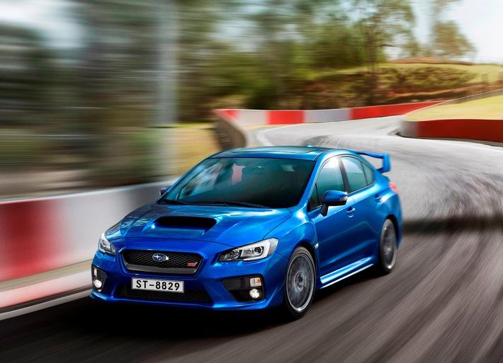 Europapremiere des neuen Subaru WRX STI (BILD)