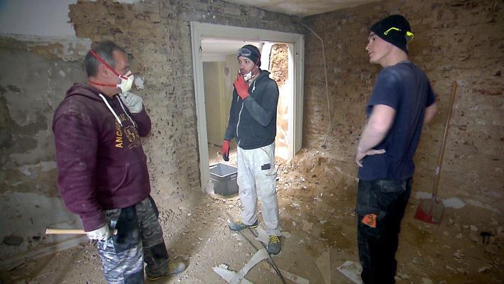 """""""Die Wollnys"""" - Renovierungsarbeiten auf eigene Faust"""