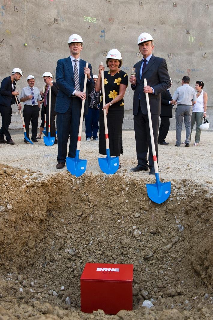 Grundsteinlegung für neue Manor in Liestal