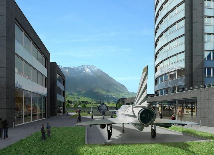 """Neues Wohn- und Business-Center """"Mirage Center"""", Stans - In zwei Bauetappen entstehen neue Wohnungen, Büro- und Verkaufsräume"""