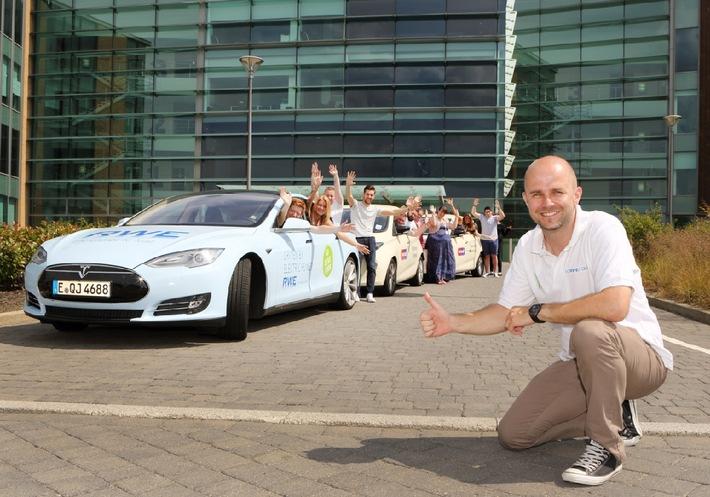 """""""Go & See 2014"""": Tour-Finale in Newcastle / Europäischer Elektromobilitäts-Test: Bestanden"""