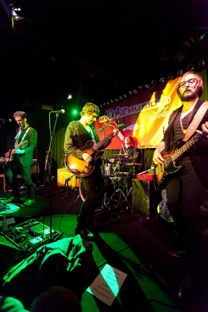 «The Jamborines» de la Suisse Romande remportent le «MyCokemusic Soundcheck 2010»