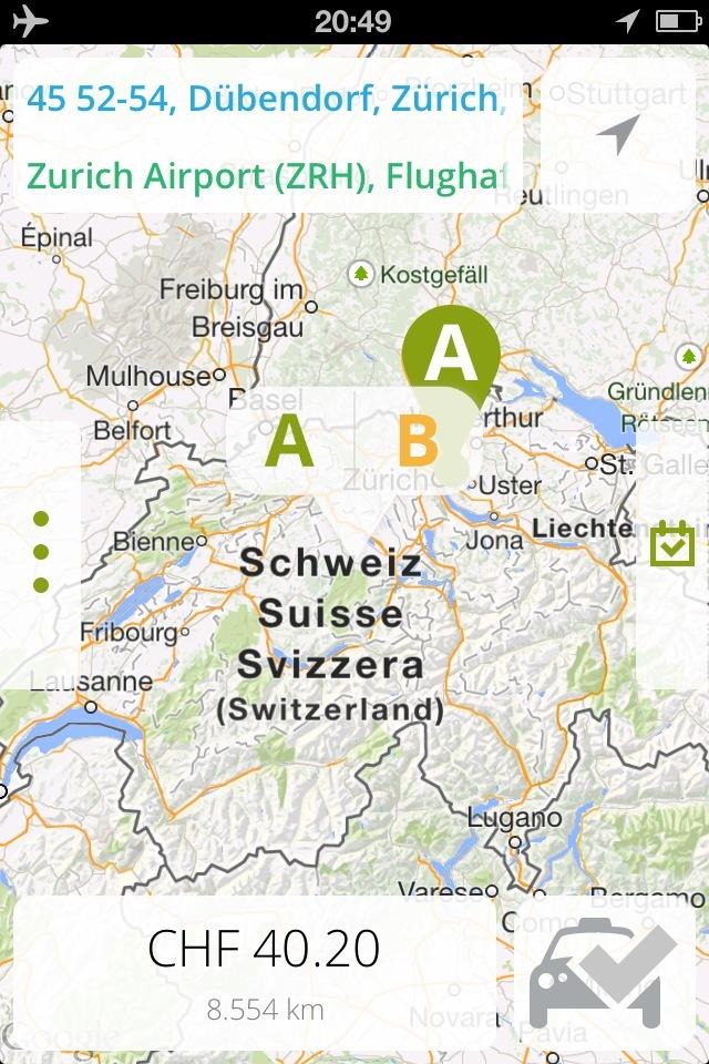 Wenn ein Taxi - dann iTAXI / Taxi-Start-Up erobert die Schweiz mit neuster Technologie