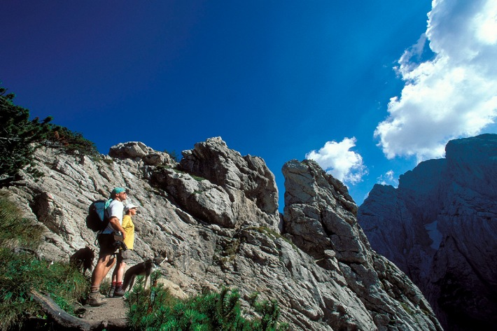 Das Wandern ist des Müllers Lust im Ferienland Kufstein