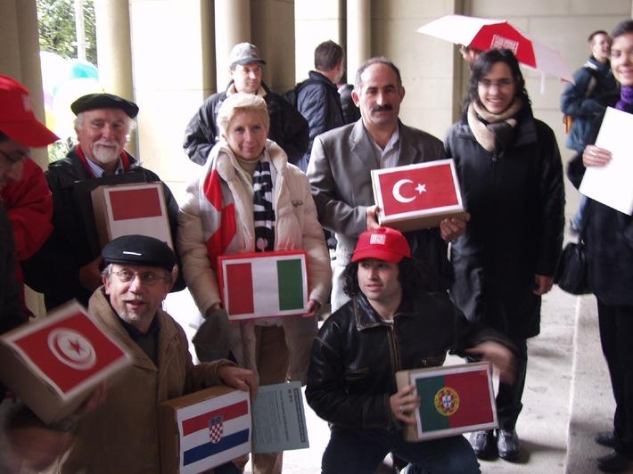 GBI: Petition gegen neues Ausländergesetz eingereicht