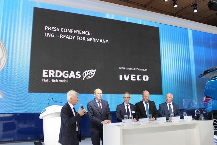 LNG: Flüssiges ERDGAS ist reif für den deutschen Markt