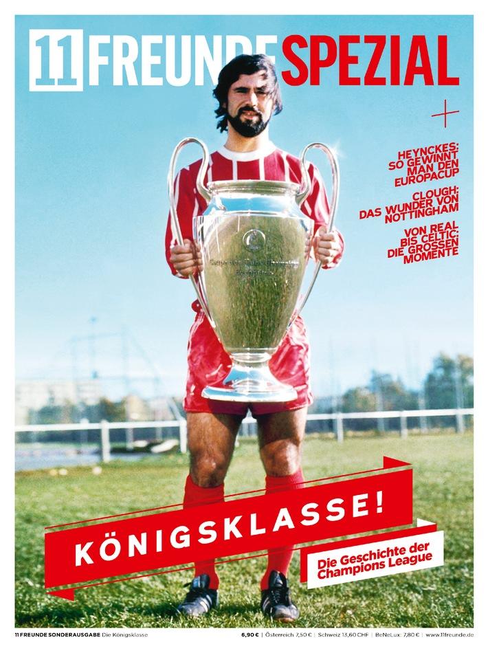 """11FREUNDE SPEZIAL """"Königsklasse"""" mit drei verschiedenen Covern der Champions League-Triumphe von Bayern München, vom BVB und HSV"""