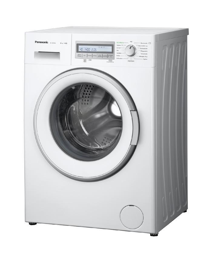 Panasonic Waschmaschinen NA-148VB6 und NA-147VB6 / Viel Bedienkomfort, innovative Technik und wenig Verbrauch