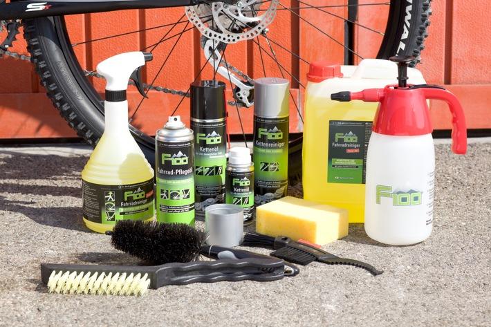Dr. Wack stark in neuem Markt - Fahrräder und E-Bikes steigern Umsatz von Pflegeprodukten des Premiumherstellers