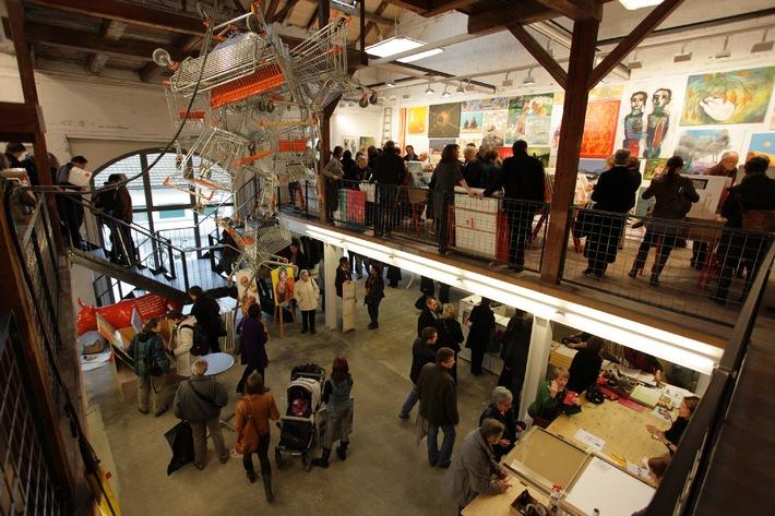Kunst für alle im Supermarkt - Der 13. Schweizer Kunst-Supermarkt wird demnächst eröffnet