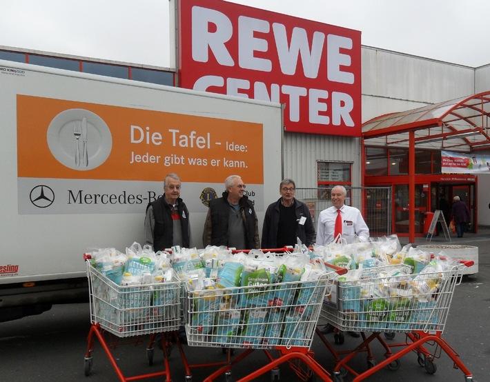 1.430 Tonnen Lebensmittel für die Tafeln