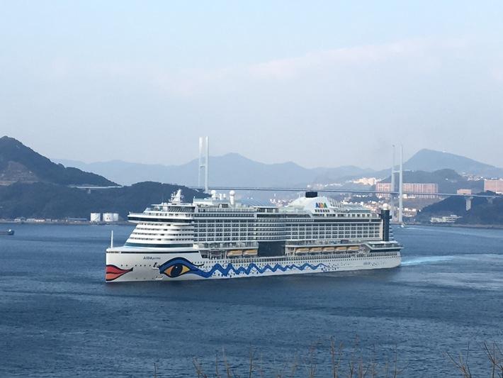 AIDA Cruises übernimmt neues Flaggschiff AIDAprima / Zusätzliche Kurzreise startet ab 25. April 2016 ab Hamburg / Taufe am 7. Mai 2016 in Hamburg durch Emma Schweiger