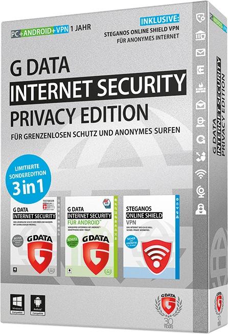 G DATA PRIVACY EDITION: Bester Rundumschutz in der virtuellen Welt