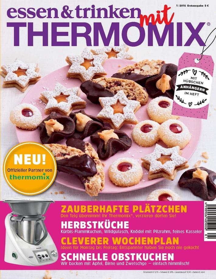 Neueinführung: ESSEN & TRINKEN MIT THERMOMIX am 12. Oktober neu im Handel / Offizieller Partner von Vorwerk Thermomix®