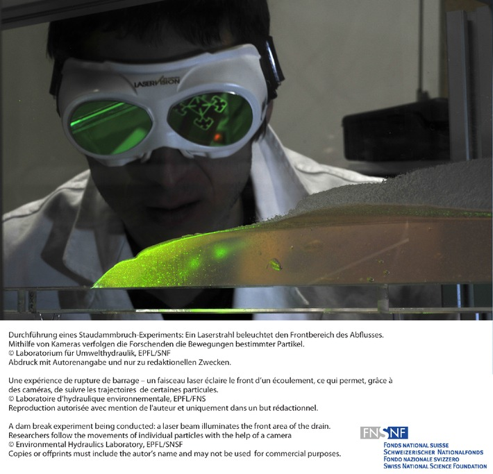 FNS: Image de la recherche avril 2011: Dynamique des fluides