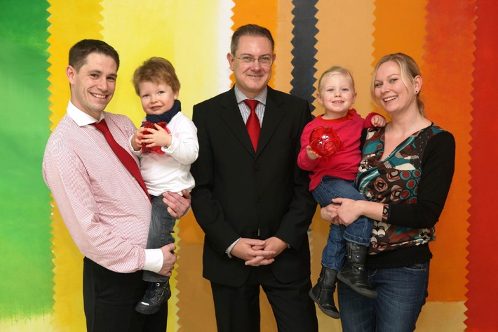 Kindergartenzuschuss für Familien von Santander-Mitarbeitern