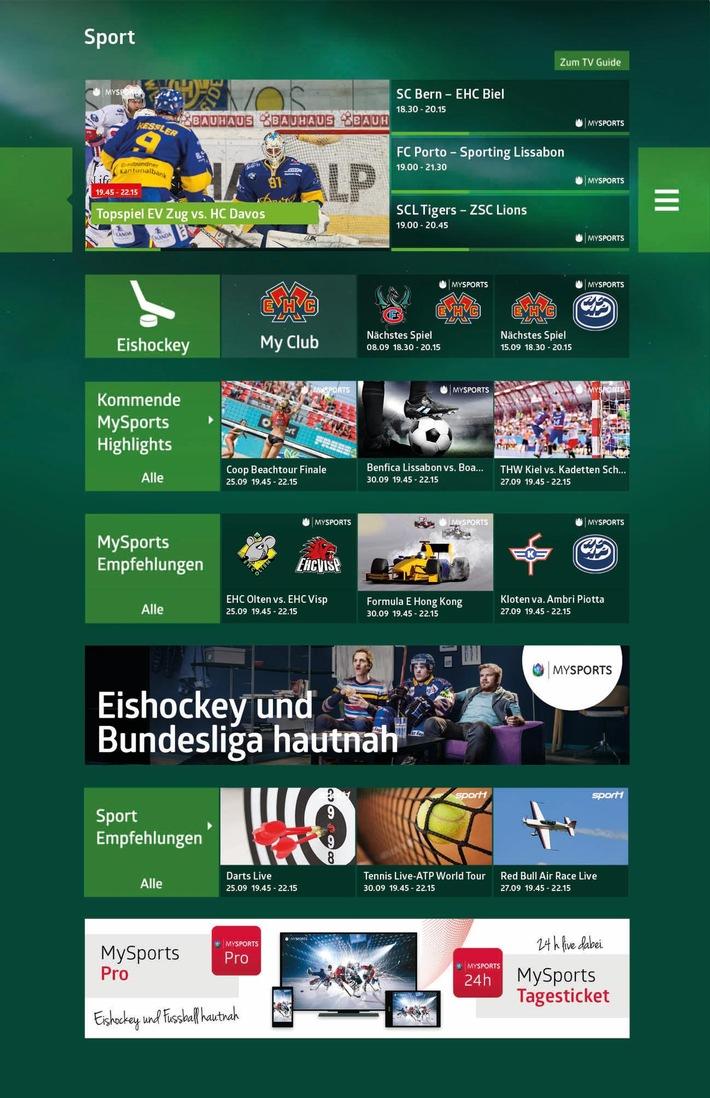 Sensationeller Schachzug für die Kabelnetzbranche: Live-Eishockey und Bundesliga/Sky bei Quickline - in jedem Haushalt