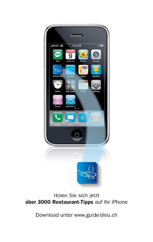Getestete Restaurants erstmals über iPhone