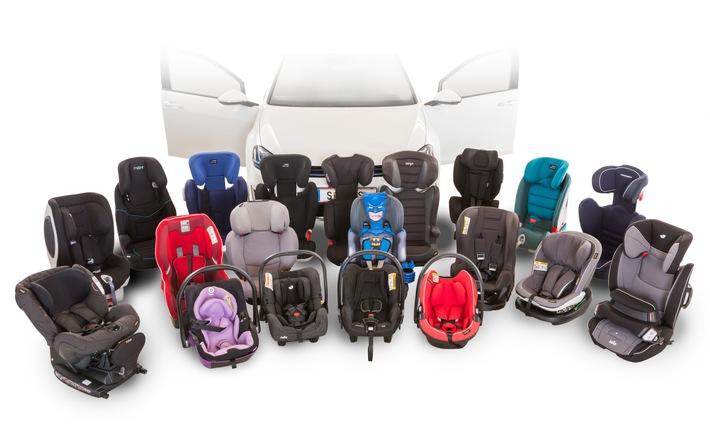 TCS-Kindersitztest: i-Size Produkte sind sehr empfehlenswert