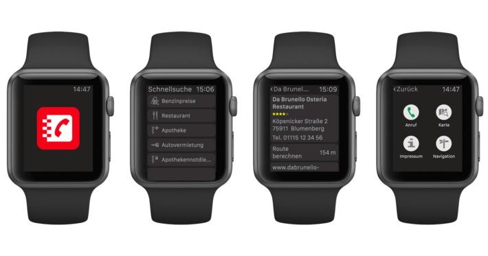 Das Telefonbuch präsentiert neue App für die Apple Watch / Design trifft Nutzen