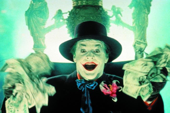Jack Nicholson möchte sterben wie ein Indianer - als Fressen für die Vögel // 'Batman', am Di., 09. Februar 2010 um 20.15 Uhr auf Tele 5