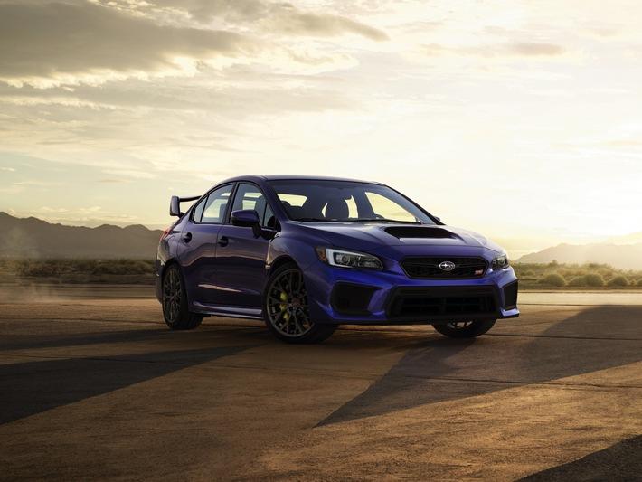 Neuer Subaru WRX und WRX STI für den US-Markt feiern Premiere auf der Detroit Motor Show