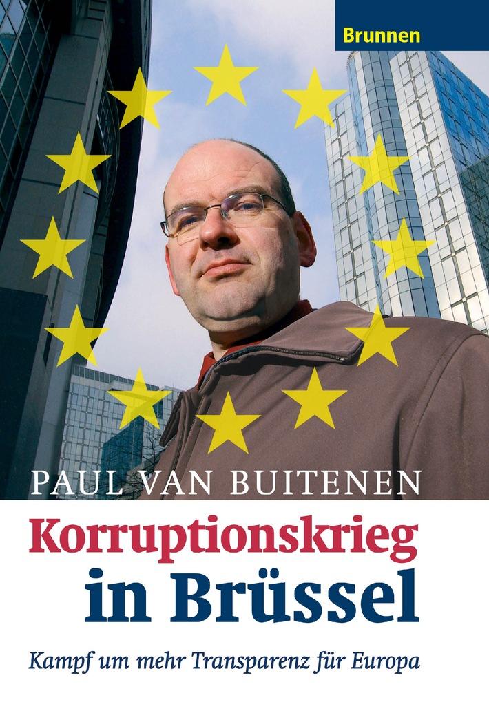 Der Whistleblower Paul van Buitenen ist Gewinner bei der Europa-Wahl - In drei Wochen erscheint sein Buch!