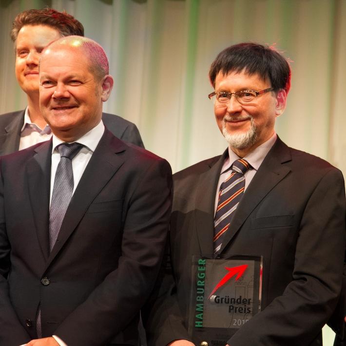 DERMALOG mit dem Hamburger Gründerpreis 2015 ausgezeichnet