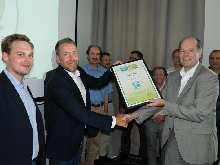 GREEN BRANDS startet das zweite Auszeichnungsverfahren für ökologisch nachhaltige Marken in Deutschland mit erster Jury-Sitzung und Auszeichnung des Scandic Hamburg Emporio Hotels