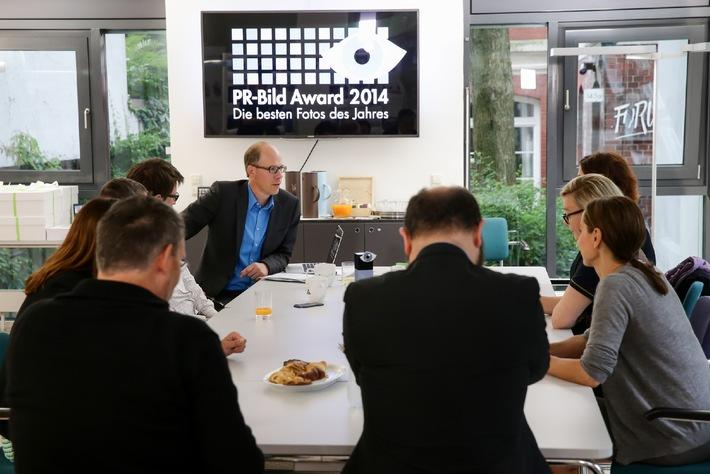 Die besten Fotos von Unternehmen und Organisationen: Shortlist für den PR-Bild Award 2014 steht fest