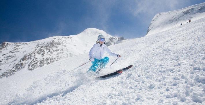 Schneeliebhaber aufgepasst: Beste Wintersportbedingungen auf dem Kitzsteinhorn in Zell am See-Kaprun - BILD
