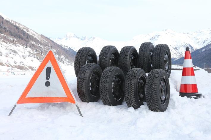 TCS Winterreifentest 2014 - Hohes Leistungsniveau bei den Besten