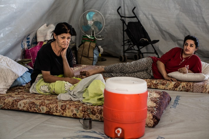 Caritas fournit une aide pour l'hiver en Irak, dans les régions d'Erbil et de Dohuk