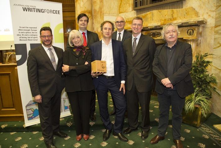 """Journalistenpreis """"Writing for CEE 2015"""" geht an Martin Leidenfrost - BILD/ VIDEO"""