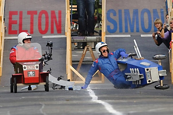 Elton vs. Simon LIVE (mit Bild)