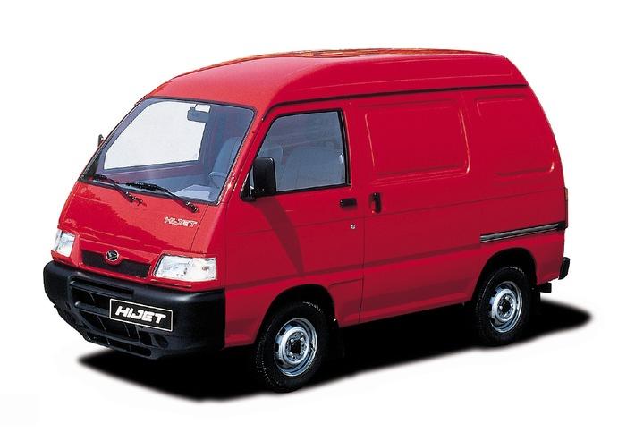 Daihatsu à l'exposition Suisse Public 2001
