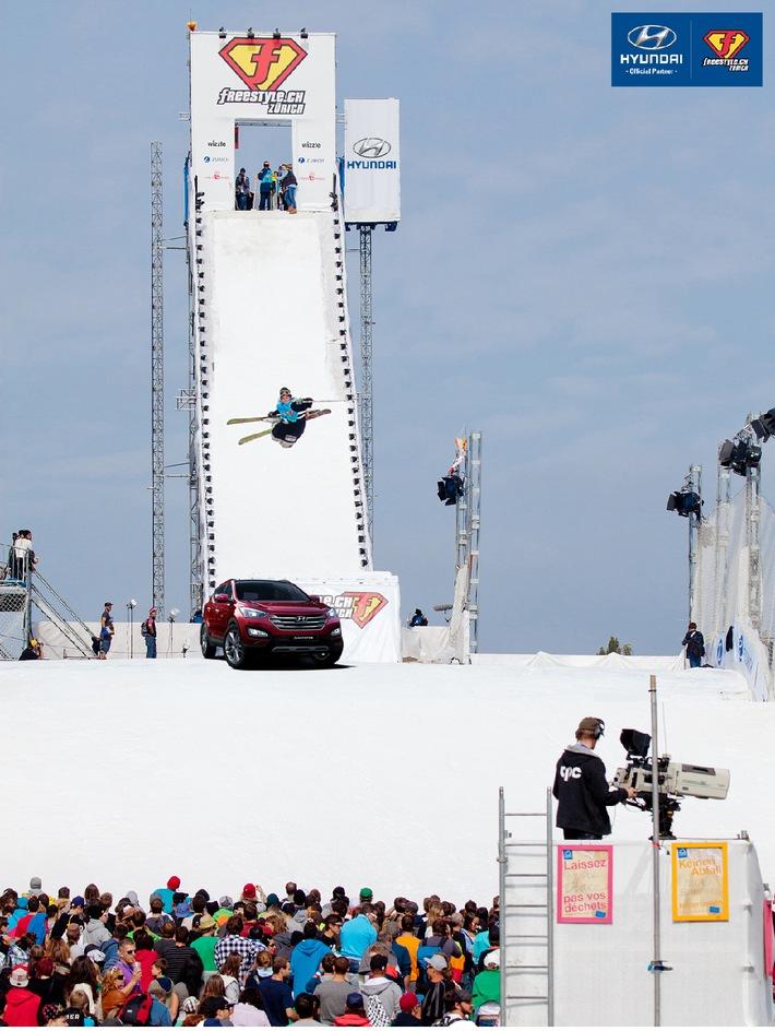 Hyundai wird neuer Partner von freestyle.ch / Freestyle in der Luft, und viel Lifestyle am Boden