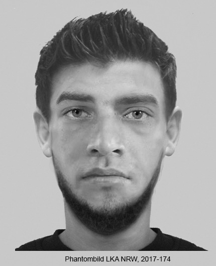 POL-D: Nach bewaffnetem Raub auf Schlüsseldienstmitarbeiter in Garath - Polizei fahndet mit Phantombildern - Wer kennt die Männer